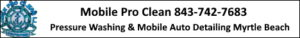 Pressure Washing Myrtle Beach by Mobile Pro Clean LLC